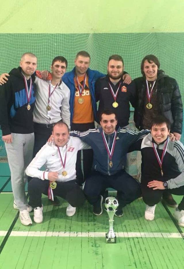 Победа в турнире по мини-футболу памяти Андрея Демидова